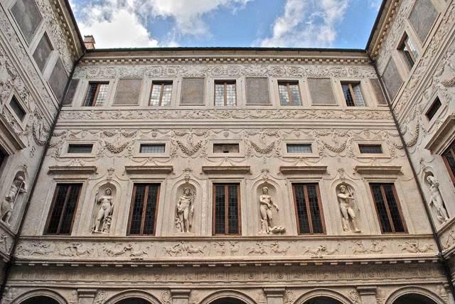 Галерея Спада, Рим, расположение на карте, описание