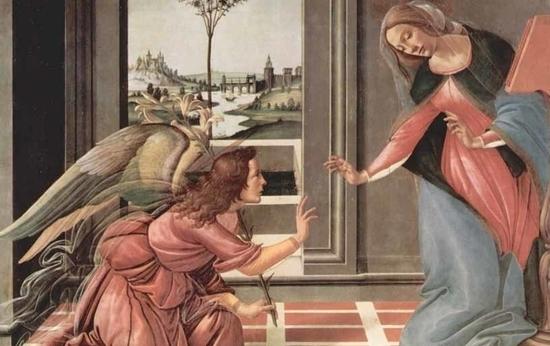 Ужин Настажио у Онисти, iii-й эпизод, Сандро Боттичелли
