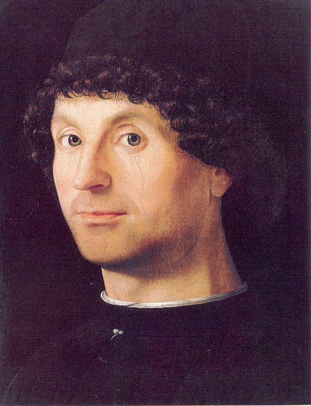 Мужской портрет, Антонелло да Мессина, 1475