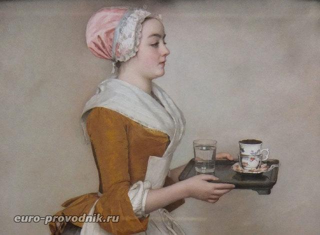 Шоколадница, Жан-Этьен Лиотар