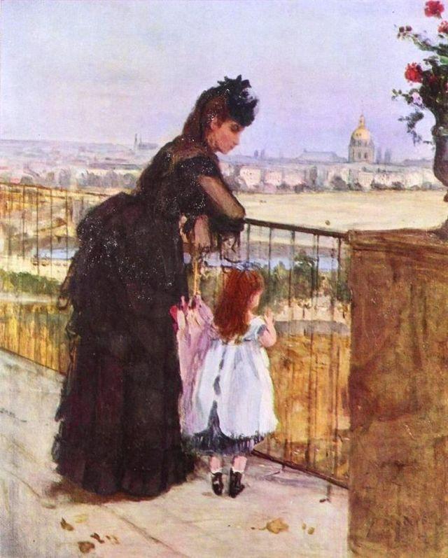 Картина «Сестры», Берта Моризо, 1869