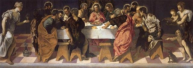 Похищение тела святого Марка, Якопо Тинторетто