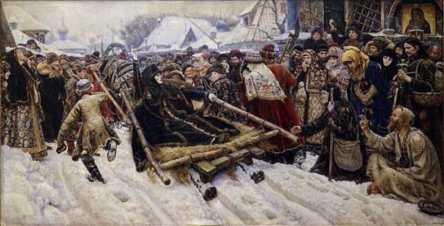 Суриков: картины, биография. Работы Василия Ивановича Сурикова