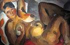 Красная мебель, Роберт Рафаилович Фальк, 1920