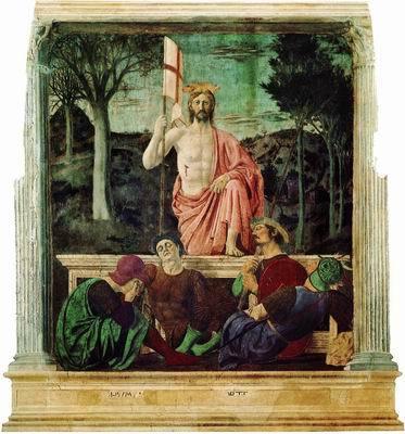 Крещение Христа, Пьеро делла Франческа