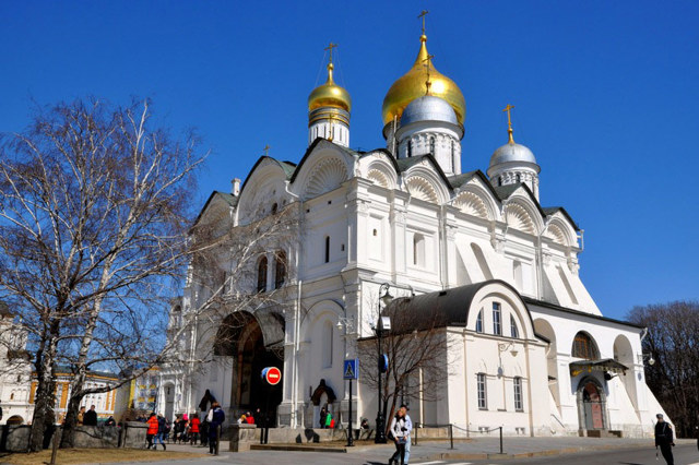 Архангельский собор московского Кремля, Россия