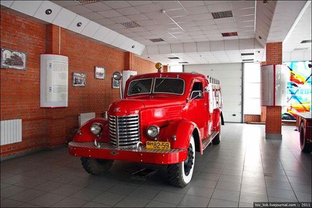 Музей пожарной техники города Киева, Украина