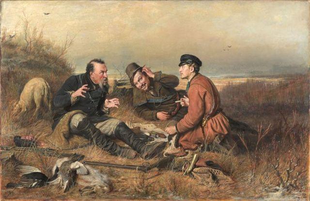 Голубятник, Перов, 1874