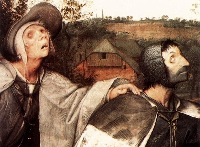 Картина «Притча о слепых» или «Слепые», Питер Брейгель Старший — описание