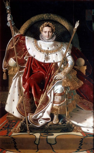 Портрет Наполеона i, Энгр, 1806