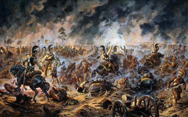 «Конец Бородинского сражения», Василий Верещагин — описание картины
