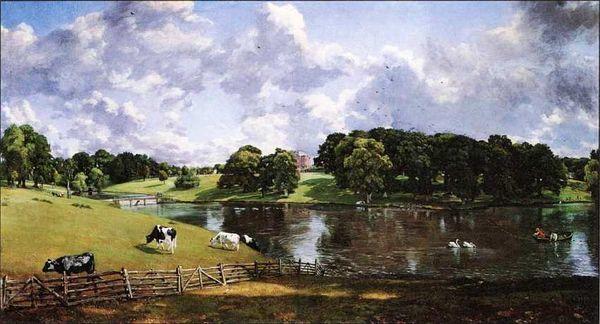 Уйвенго-парк, Джон Констебл, 1816