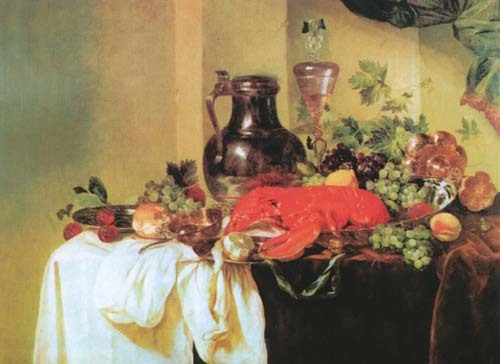 «Десерт», Виллем Кальф — описание картины