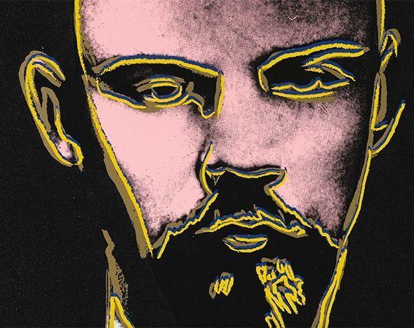 «Красный Ленин», Энди Уорхол — описание картины