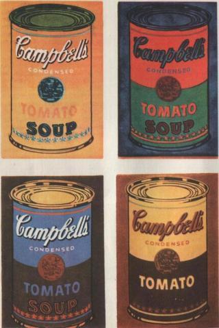 Картина «Банки с супом Кэмпбелл», Энди Уорхол — описание