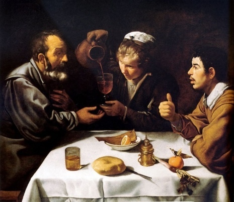 Картина Завтрак, Диего де Сильва Веласкес