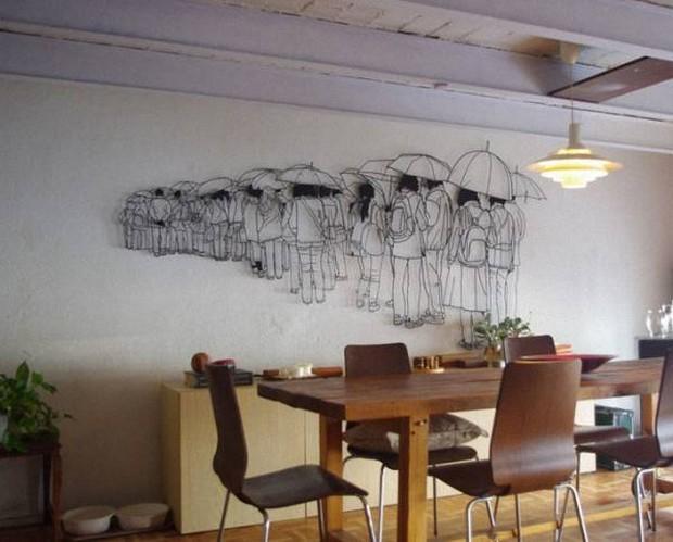 Скульптура из проволоки: рассказ о мастерах и фото работ