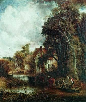 Пирс в Брайтоне, Джон Констебл - описание картины