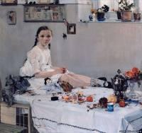 Картина «Капустница», Николай Иванович Фешин — описание