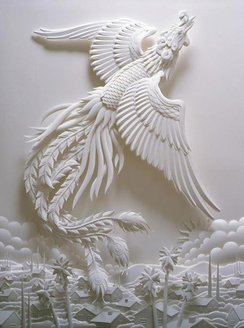 Скульптуры из бумаги: скульпторы творят чудеса