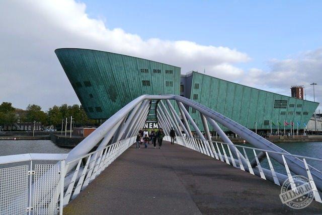 Музей НЕМО в Амстердаме, Голландия