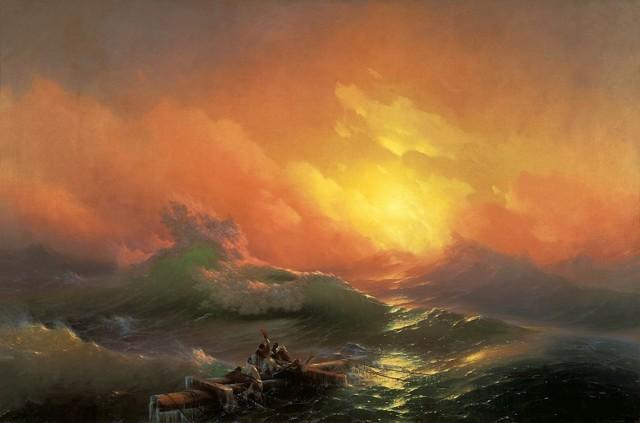 Анализ и описание картины Айвазовского «Девятый вал»