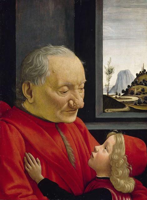 Портрет старика с внуком, Доменико Гирландайо, 1488