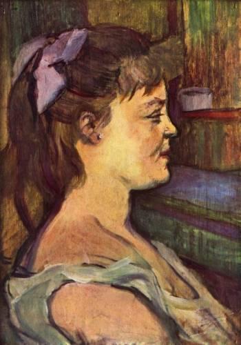 В Салоне на улице де Мулен, Тулуз-Лотрек, 1894