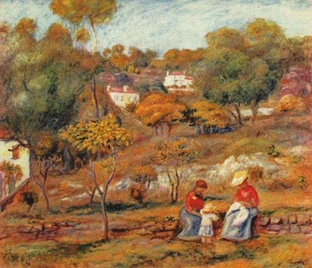Танец в Буживале, Ренуар, 1883