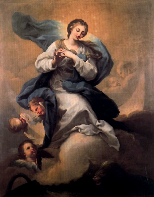 «Непорочное зачатие», Франсиско де Сурбаран — описание картины