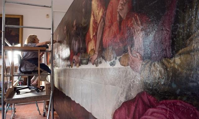 «Тайная вечеря», Хуан де Хуанес — описание картины