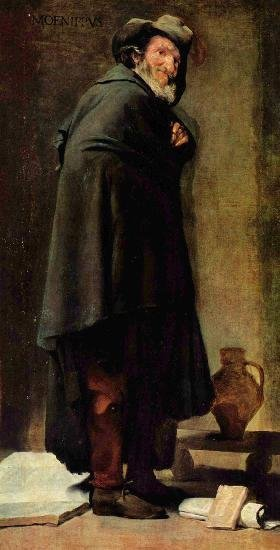 Портрет Хуана Матеоса, Диего Веласкес — описание