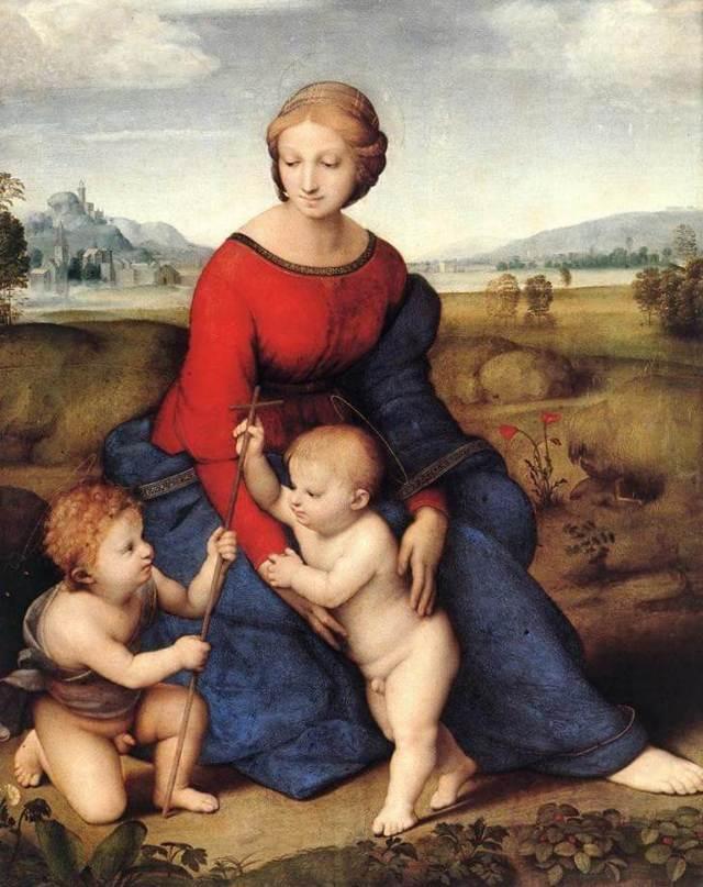 Обручение Девы Марии, Рафаэль Санти, 1504