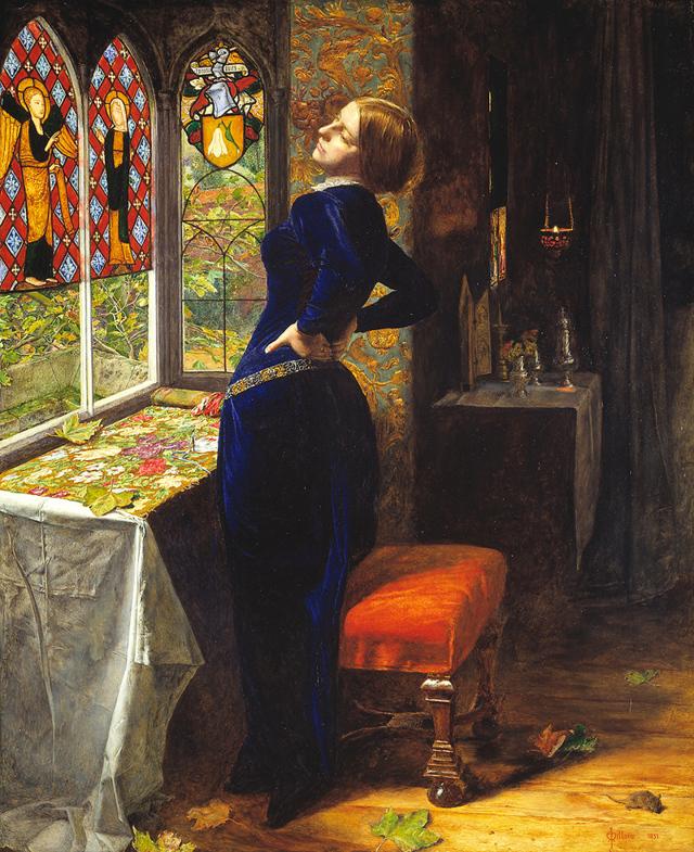 «Осенние листья», Джон Эверетт Милле — описание картины