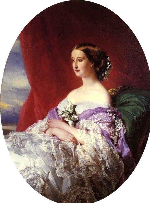 Портрет императрицы Марии Александровны, Франц Ксавье Винтерхальтер, 1857