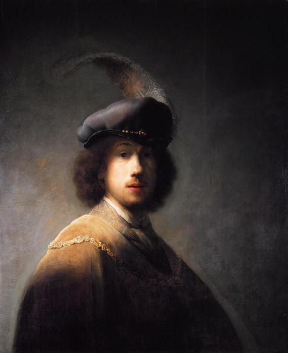 Автопортрет, Рембрандт, 1639