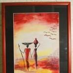 Поцелуй, Густав Климт - описание картины