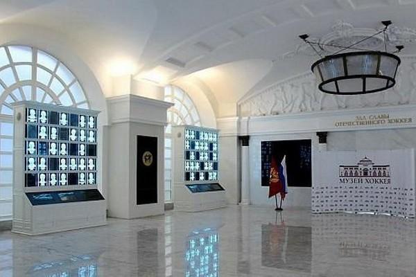 Музей хоккея в Москве, зал хоккейной славы - открытие в 2015
