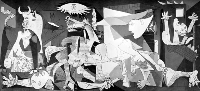 Картина Герника, Пабло Пикассо, 1937