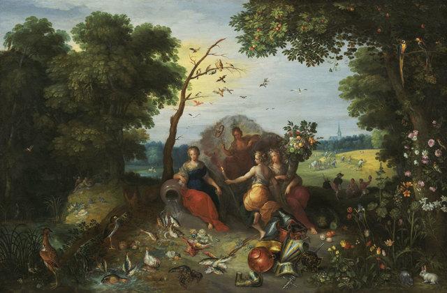 Ян Брейгель Старший, биография и картины