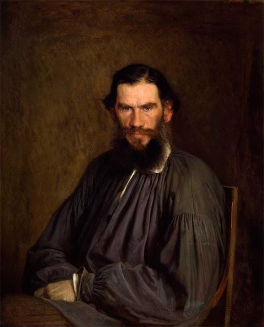 Портрет Льва Николаевича Толстого, Крамской, 1873