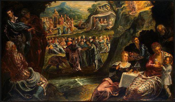 «Тайная вечеря», Якопо Бассано — описание картины