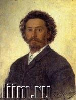 Портрет Протодиакона, Репин, 1877