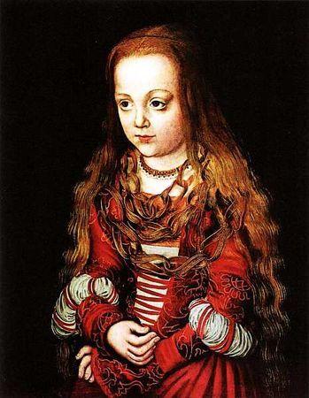 Портрет саксонского принца и принцессы, Лукас Кранах Старший