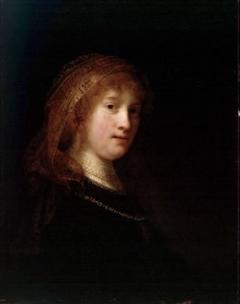 Картина Даная, Рембрандт, 1636