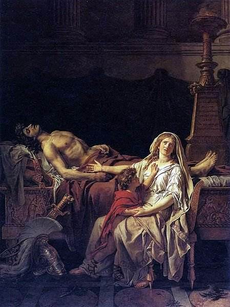 Портрет Лавуазье с женой, Жак Луи Давид, 1788