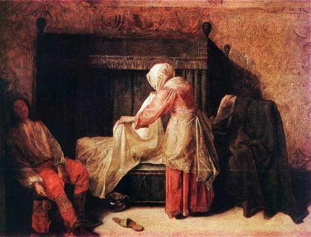 Похищение Европы, Клод Лоррен, 1655