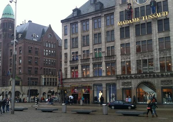 Музей мадам Тюссо в Амстердаме: адрес, карта, фото