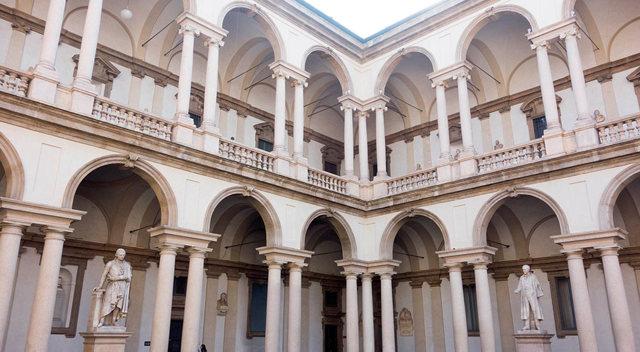 Картинная галерея Брера в Милане - хранилище живописи и скульптуры