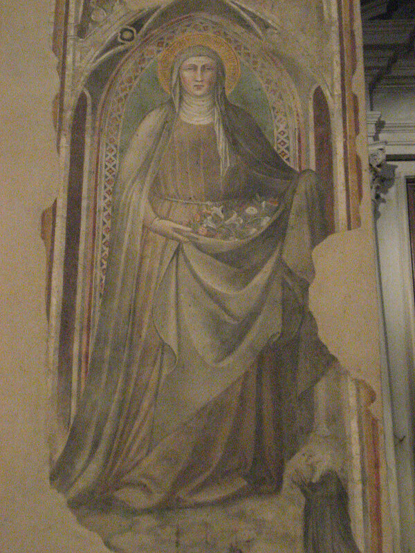 Картина Тяжелый камень (Чудо с камнем), Спинелло Аретино, 1387